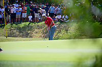 Jon Rahm (ESP) attempts a long birdie putt on 7 during round 7 of the World Golf Championships, Dell Technologies Match Play, Austin Country Club, Austin, Texas, USA. 3/26/2017.<br /> Picture: Golffile | Ken Murray<br /> <br /> <br /> All photo usage must carry mandatory copyright credit (&copy; Golffile | Ken Murray)