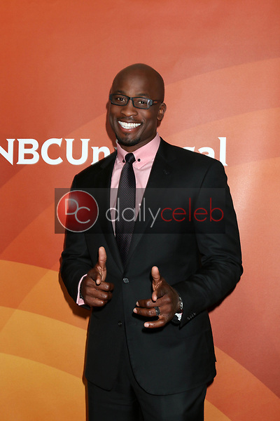 Akbar Gbajabiamila<br /> at the NBCUniversal Summer Press Day, Beverly Hilton, Beverly Hills, CA 03-20-17<br /> David Edwards/DailyCeleb.com 818-249-4998