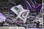 09.11.2019, Stadion an der Bremer Brücke, Osnabrück, GER, 2. FBL, VfL Osnabrueck vs. VfB Stuttgart<br /> <br /> ,DFL REGULATIONS PROHIBIT ANY USE OF PHOTOGRAPHS AS IMAGE SEQUENCES AND/OR QUASI-VIDEO, <br />   <br /> im Bild<br /> Fankurve / Fans / Fanblock / VfL Osnabrueck<br /> <br /> <br /> Foto © nordphoto / Paetzel