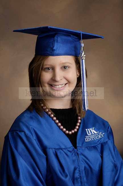 Matlack, Sara photographed during the Feb/Mar, 2013, Grad Salute in Lexington, Ky.