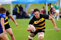 Tasman v Taranaki Men cup semifinal. Day two of the 2018 Bayleys National Sevens at Rotorua International Stadium in Rotorua, New Zealand on Sunday, 14 January 2018. Photo: Dave Lintott / lintottphoto.co.nz