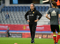 20170919 - LEUVEN , BELGIUM : Belgian assistant coach Kris Van Der Haegen pictured during the female soccer game between the Belgian Red Flames and Moldova , the first game in the qualificaton for the World Championship qualification round in group 6 for France 2019, Tuesday 19 th September 2017 at OHL Stadion Den Dreef in Leuven , Belgium. PHOTO SPORTPIX.BE | BELGA | DAVID CATRY