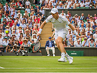 London, England, 3 th July, 2017, Tennis,  Wimbledon, Andy Murray (GBR) in his opening match against Alexander Bublik (KAZ)<br /> Photo: Henk Koster/tennisimages.com
