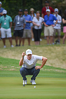 Alex Noren (SWE) looks over his putt on 7 during day 5 of the World Golf Championships, Dell Match Play, Austin Country Club, Austin, Texas. 3/25/2018.<br /> Picture: Golffile | Ken Murray<br /> <br /> <br /> All photo usage must carry mandatory copyright credit (© Golffile | Ken Murray)