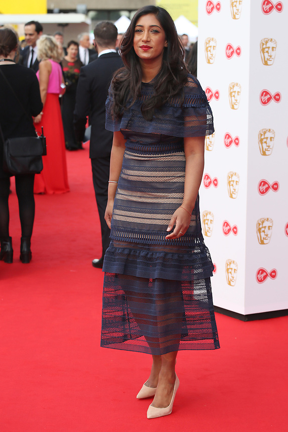 Tina Daheley<br />  arriving at the Bafta Tv awards 2017. Royal Festival Hall,London  <br /> ©Ash Knotek