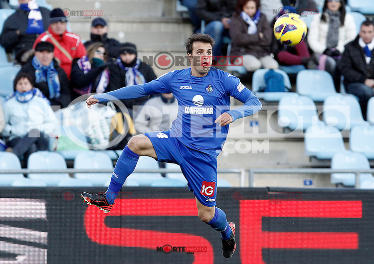 Getafe's Pedro Leon during La Liga match.December 01,2012. (ALTERPHOTOS/Acero) ©/NortePhoto