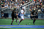 Bryant University vs. University of Maryland in the NCAA Division I Men's Lacrosse Quarterfinal at Hofstra University on Saturday, May 17, 2014, in Hempstead, N.Y. Photo by Kathy Kmonicek