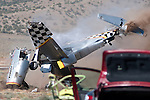 National Championship Air Races 2010 - Giboney crash
