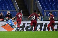 Joaquin Correa of SS Lazio scores goal of 1-0 for his side<br /> Roma 28-11-2019 Stadio Olimpico <br /> Football Europa League 2019/2020 <br /> SS Lazio - CFR Cluji <br /> Photo Andrea Staccioli / Insidefoto
