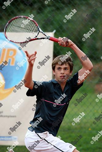 2009-09-06 / Tennis / Feest van de jeugd 2009 / Xander Veys..Foto: Maarten Straetemans (SMB)