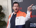 "Adam Sandler 127 arrives at the LA Premiere Of Netflix's ""Murder Mystery"" at Regency Village Theatre on June 10, 2019 in Westwood, California"