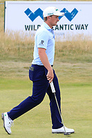 Paul Dunne (IRL) on the 8th during Round 3 of the Dubai Duty Free Irish Open at Ballyliffin Golf Club, Donegal on Saturday 7th July 2018.<br /> Picture:  Thos Caffrey / Golffile