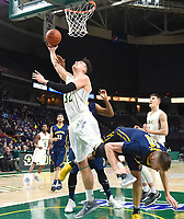 Siena defeats Canisius 65-62 in a MAAC game on January 07, 2018 at the Times Union Center in Albany, New York.  (Bob Mayberger/Eclipse Sportswire)