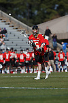2013 March 02: Joe LoCascio #5 of the Maryland Terrapins during a game against the Duke Blue Devils at Koskinen Stadium in Durham, NC.  Maryland won 16-7.