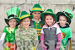 Molly Barton, Marian Dennehy, Aoife Coffey, Shauna Barton and Grainne Costello having fun at the St Patricks day parade in Milltown on Monday   Copyright Kerry's Eye 2008