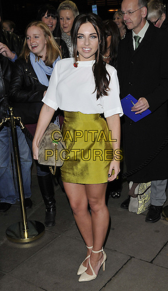 LONDON, ENGLAND - NOVEMBER 03: Louisa Lytton attends the &quot;Dance 'Til Dawn&quot; press night performance, Aldwych Theatre, Aldwych, on Monday November 03, 2014 in London, England, UK. <br /> CAP/CAN<br /> &copy;Can Nguyen/Capital Pictures