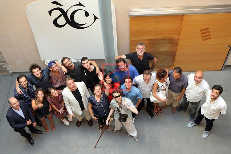 Academia del Cinema Catala.<br /> Presentaci&oacute; El Cicle Gaudi.<br /> Foto de familia.