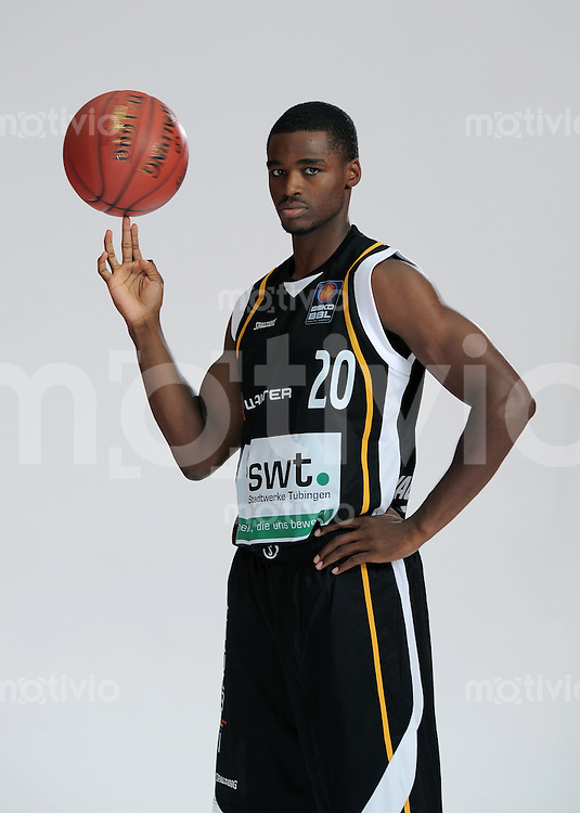 1. Basketball Bundesliga 2011/2012  21.08.2010 Walter Tigers Tuebingen   Josh Young (Tigers)