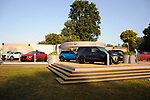 1st September 2018. The Land Rover stand at the 2018 Land Rover Burghley Horse Trials in Stamford, Lincolnshire, United Kingdom. Jonathan Clarke/JPC Images