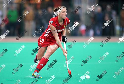 2012-03-17 / Hockey / seizoen 2011-2012 / Nationale Dames ploeg België - Red Panthers / Louise Cavenaile..Foto: Mpics.be