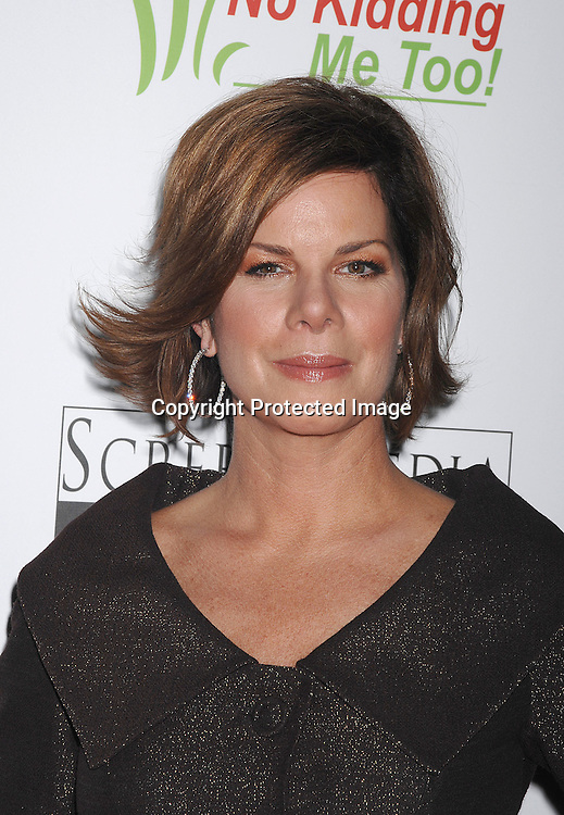 """Marcia Gay Harden..posing for photographers at The New York Premiere of ..""""Canvas"""" starring Marcia Gay Harden and Joe Pantoliano..on October 9, 2007 at The French Institute. ....photo by Robin Platzer, Twin Images....212-935-0770"""