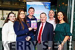 Kate O'Sullivan, Eileen O'Donoghue, Pierce Kelly, Paul Sherry, John Joe Culloty and Maureen Hegarty launching the Killarney Walking Festival in the Plaza Hotel on Tuesday evening