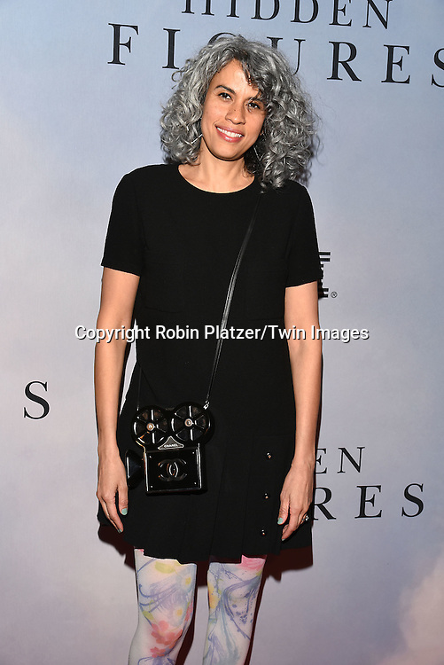 producer Mimi Valdes attends &quot;Hidden Figures&quot; Special Screening on December 10, 2016 at SVA Theatre in New York, New York, USA.<br /> <br /> photo by Robin Platzer/Twin Images<br />  <br /> phone number 212-935-0770