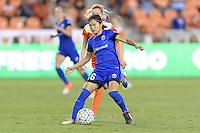 Houston, TX - Sunday Sept. 25, 2016: Nahomi Kawasumi during a regular season National Women's Soccer League (NWSL) match between the Houston Dash and the Seattle Reign FC at BBVA Compass Stadium.