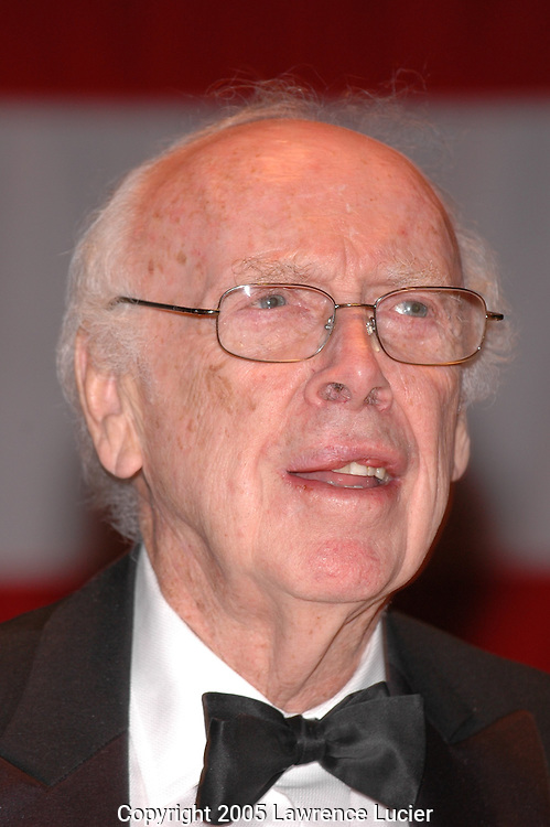 James Watson, co-discoverer of the structure of DNA, Nobel laureate, and former director of the N.I.H. National Center for Human Genome Research.