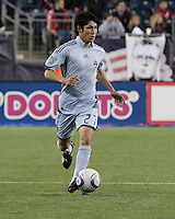 Colorado Rapids defender Danny Earls (2).  The Colorado Rapids defeated the New England Revolution, 2-1, at Gillette Stadium on April 24.2010