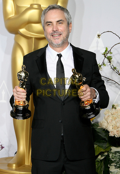 02 March 2014 - Hollywood, California - Alfronso Cuaron. 86th Annual Academy Awards held at the Dolby Theatre at Hollywood &amp; Highland Center.  <br /> CAP/ADM<br /> &copy;AdMedia/Capital Pictures