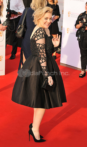 Sheridan Smith at the British Academy (BAFTA) Television Awards 2016, Royal Festival Hall, Belvedere Road, London, England, UK, on Sunday 08 May 2016.<br /> CAP/CAN<br /> &copy;CAN/Capital Pictures /MediaPunch ***NORTH AMERICAN AND SOUTH AMERICAN SALES ONLY***