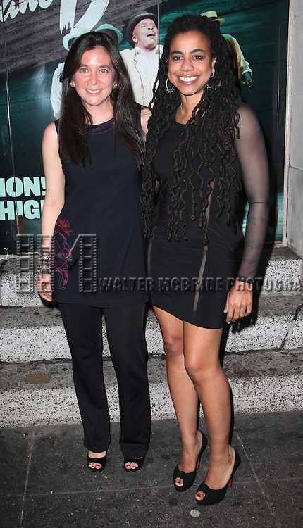 Diane Paulus & Suzan-Lori Parks.attending the Opening Night Performance of 'The Gershwins' Porgy & Bess' at the Richard Rodgers Theatre in New York City. 1/12/2012