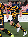 Alloa's Greig Spence celebrates after he scores their second goal.