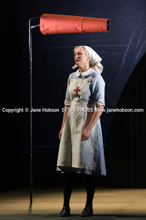 English Touring Opera presents XERXES, by George Frideric Handel, at the Hackney Empire, prior to setting off on a UK tour. Picture shows: Laura Mitchell (Romilda)