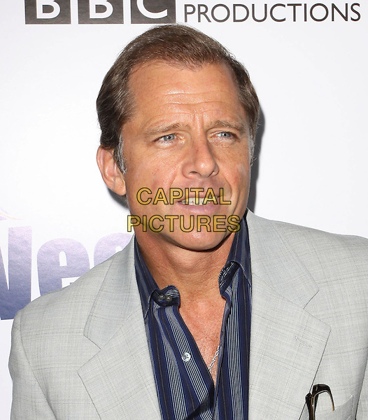 MAXWELL CAULFIELD  .The BritWeek 2010 Champagne Launch held At The British General Consul Residence, Los Angeles, California, USA..April 20th, 2010.headshot portrait grey gray blue shirt stripe  .CAP/ADM/KB.©Kevan Brooks/AdMedia/Capital Pictures.