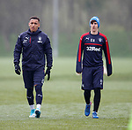 James Tavernier and Emerson Hyndman