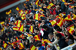 Spain's supporters during FIFA World Cup 2018 Qualifying Round match. March 24,2017.(ALTERPHOTOS/Acero)