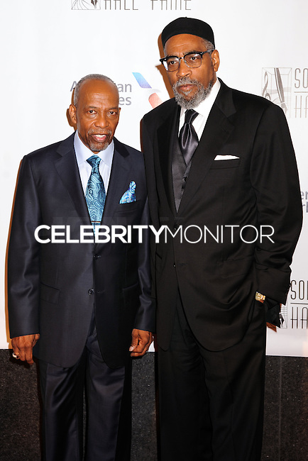 NEW YORK CITY, NY, USA - JUNE 12: Kenneth Gamble, Leon Huff at the 45th Annual Songwriters Hall Of Fame Induction And Awards Gala held at The New York Marriott Marquis on June 12, 2014 in New York City, New York, United States. (Photo by Celebrity Monitor)