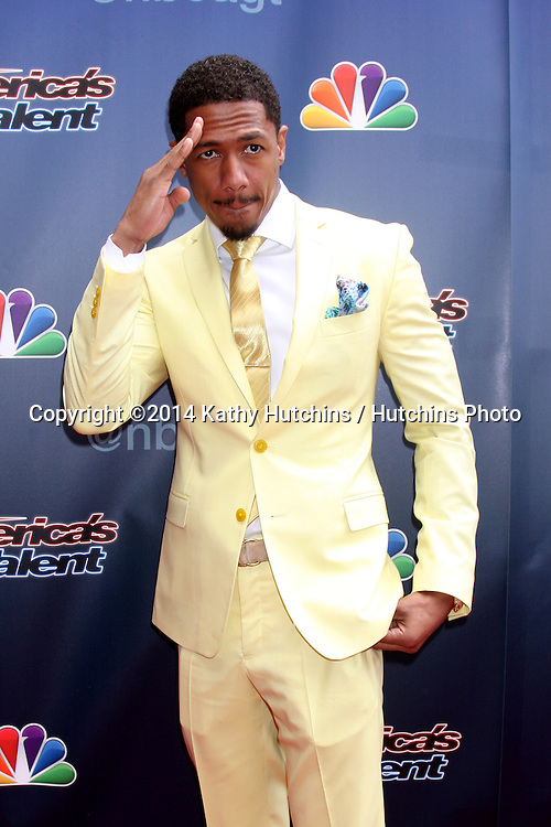 "LOS ANGELES - APR 22:  Nick Cannon at the ""America's Got Talent"" Los Angeles Auditions Arrivals at Dolby Theater on April 22, 2014 in Los Angeles, CA"
