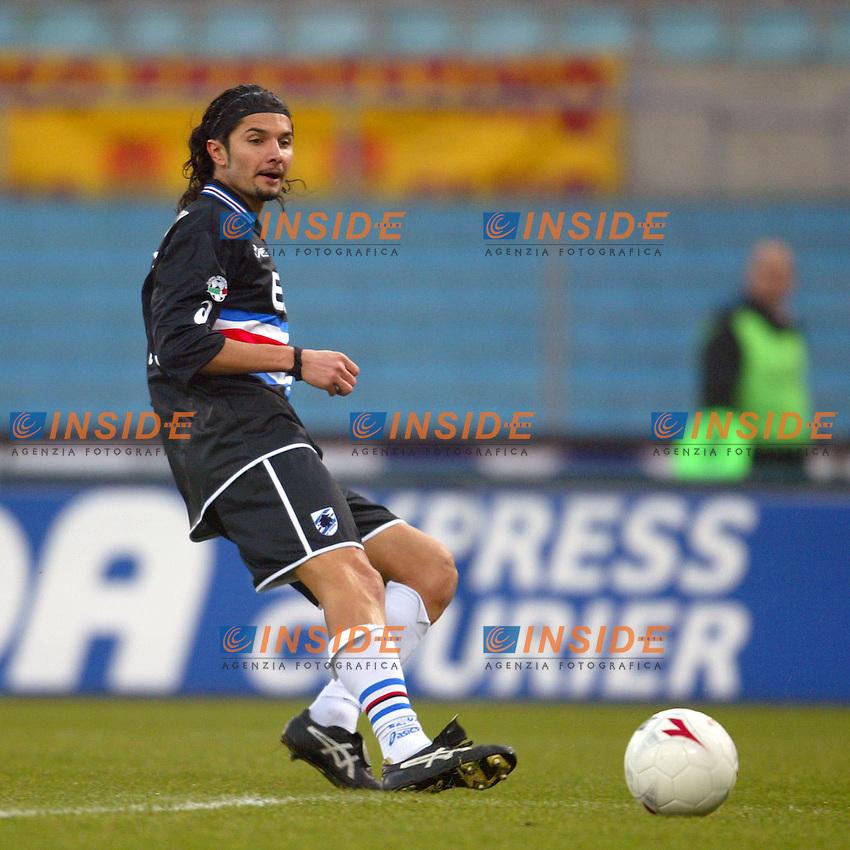Roma 18/1/2004<br /> Roma Sampdoria 3-1<br /> Morris Carrozzieri (Sampdoria)<br /> Foto Andrea Staccioli Insidefoto