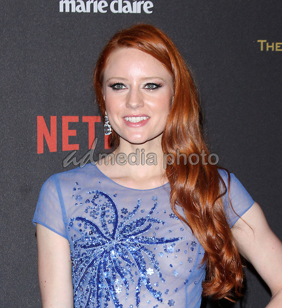 10 January 2016 - Los Angeles, California - Barbara Meier. 2016 Weinstein Company & Netflix Golden Gloves After Party held at the Beverly Hilton Hotel. Photo Credit: AdMedia