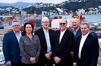 CentrePort board at CentrePort in Wellington, New Zealand on Tuesday, 31 July 2018. Photo: Dave Lintott / lintottphoto.co.nz