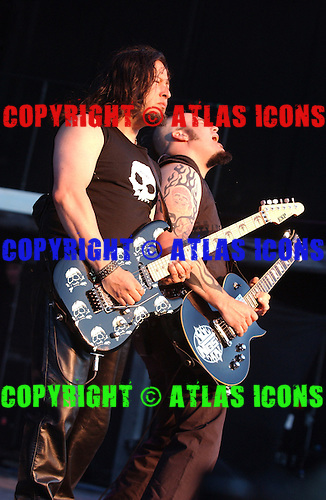 Queensryche; Live, In New York City, On 6-17-2005<br /> Photo Credit: Eddie Malluk/Atlas Icons.com