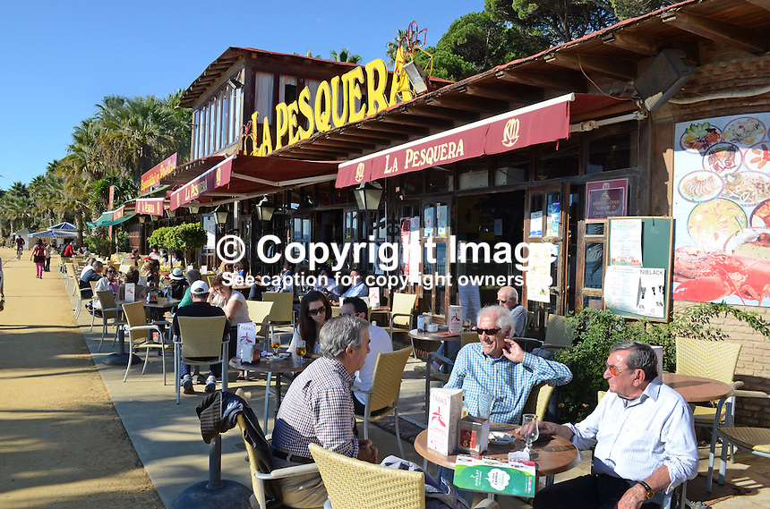La Pesquera, restaurant, restaurant chain, this one located Marbella, Costa del Sol, Spain. 201212081053..Copyright Image from Victor Patterson, 54 Dorchester Park, Belfast, UK, BT9 6RJ..Tel: +44 28 9066 1296.Mob: +44 7802 353836.Voicemail +44 20 8816 7153.Skype: victorpattersonbelfast.Email: victorpatterson@me.com.Email: victorpatterson@ireland.com (back-up)..IMPORTANT: If you wish to use this image or any other of my images please go to www.victorpatterson.com and click on the Terms & Conditions. Then contact me by email or phone with the reference number(s) of the image(s) concerned.