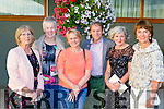 Catherine O'reilly, Mary reynolds, Noreen Spillane, Donal Hayes, Nancy dineen and Margaret O'Shea at the Kerry Hospice fashion show in the INEC on Wednesday night