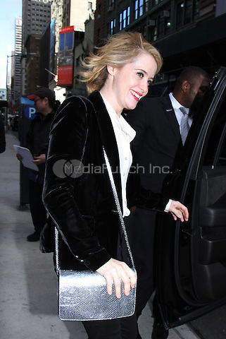 NEW YORK, NY-October 24: Claire Foy at Netflix's  screening of The Crown  at Robin Williams screening room  in New York.October 24, 2016. Credit:RW/MediaPunch