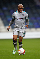 Ashley Chambers of Grimsby Town during the Sky Bet League 2 match between Luton Town and Grimsby Town at Kenilworth Road, Luton, England on 10 September 2016. Photo by Harry Hubbard / PRiME Media Images.