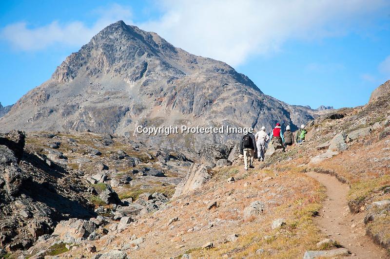 Mountains Tasiilaq Greenland
