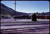 D&amp;RGW #481 K-36 - Durango Centennial celebration 1981, Twin Peak in right background.<br /> D&amp;RGW  Durango, CO  1981